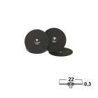Trennscheiben, 22 mm x 0,3 mm, 200er-Pack