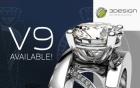 """3DESIGN 3D CAD Software """"Vollversion"""" V9"""
