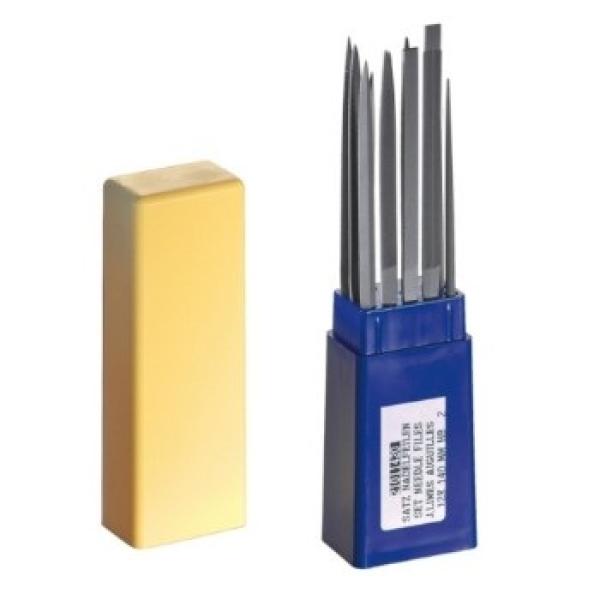 Nadelfeilen-Set, 12-teilig Hieb 2 - 140 mm