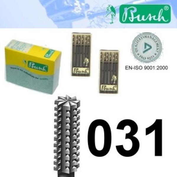 Zylinder-Fräser - Fig. 36-031 (6er-Pack)