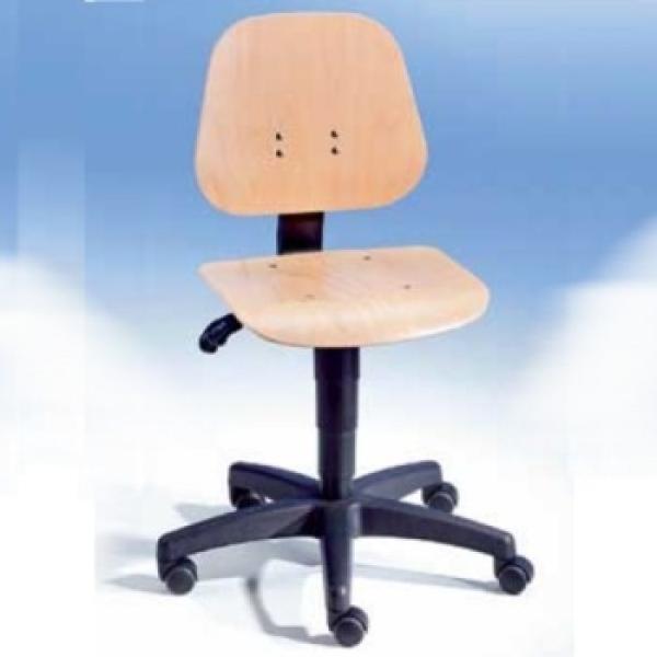 Arbeits-Drehstuhl mit Gleitrollen