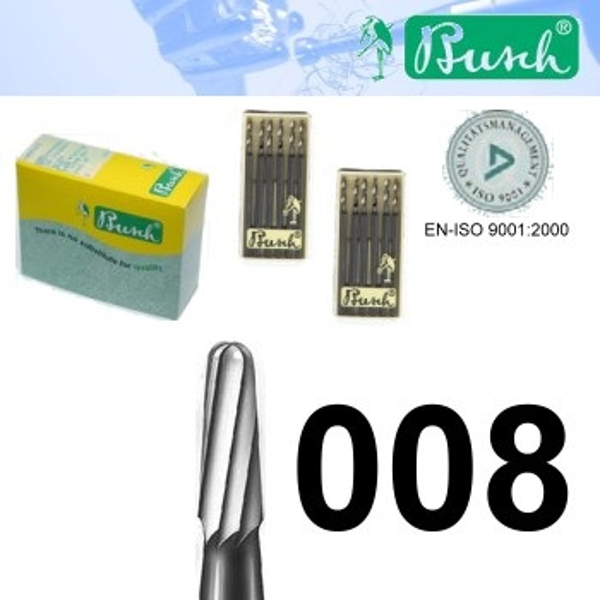 Zylinder-Fräser - Fig. 23R HM-008 (6er-Pack)