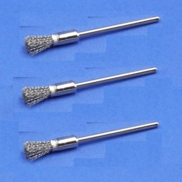 Miniatur-Pinsel, Stahldraht (12er-Pack)