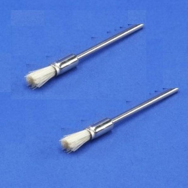 Miniatur-Pinsel, Borste, weiss (12er-Pack)  PIH 12 100