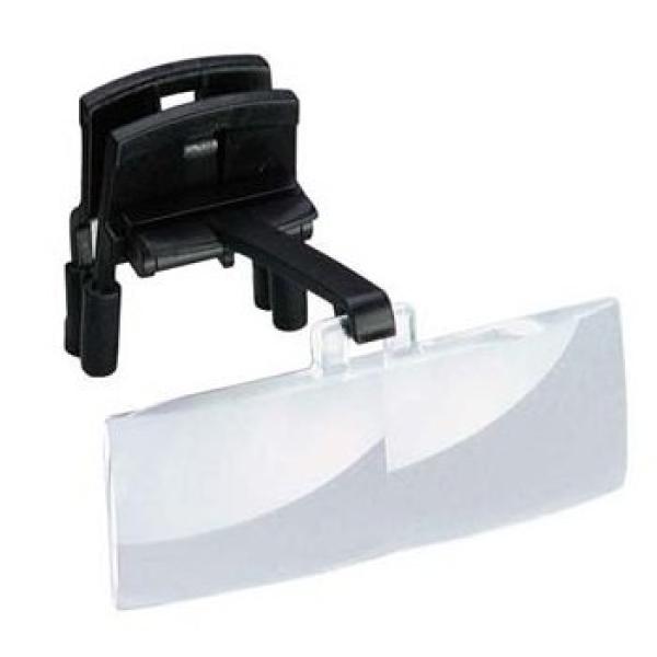 Brillenaufsatz: binocular Lupe (2-fach)