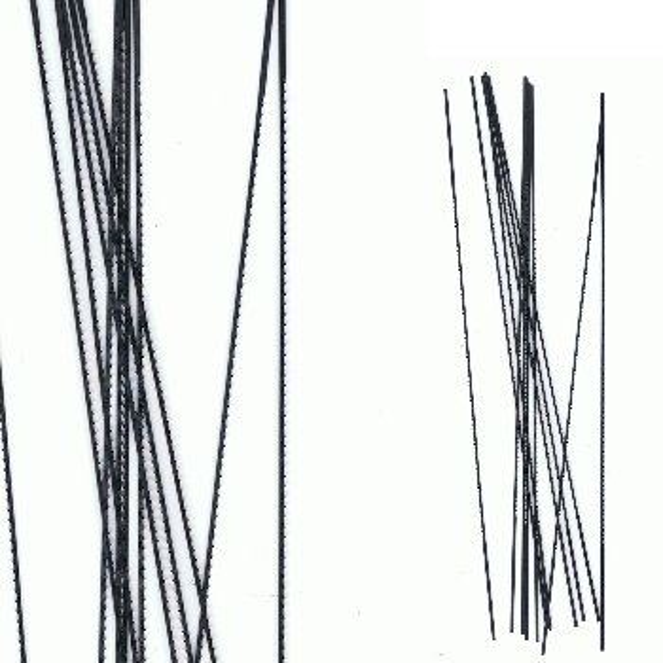 Wachssäge-Blätter (12er-Bund)
