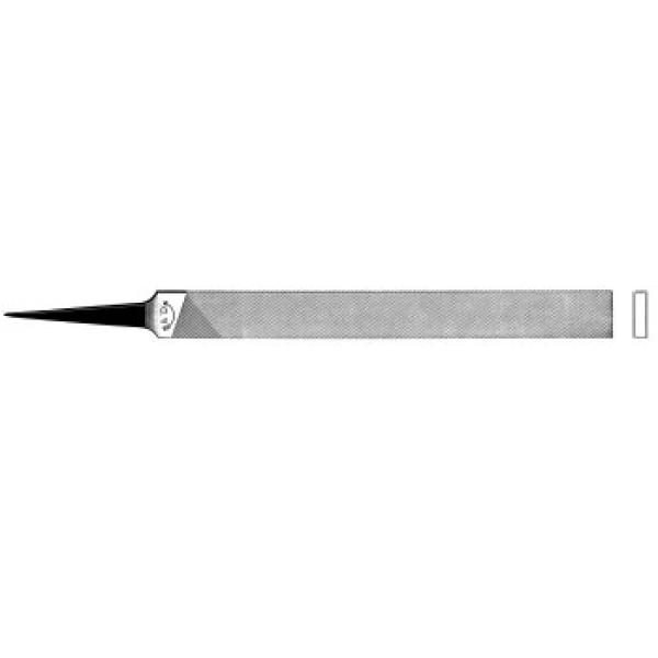 Präzisionsfeile, flachstumpf, 150-1, Nr.11121510