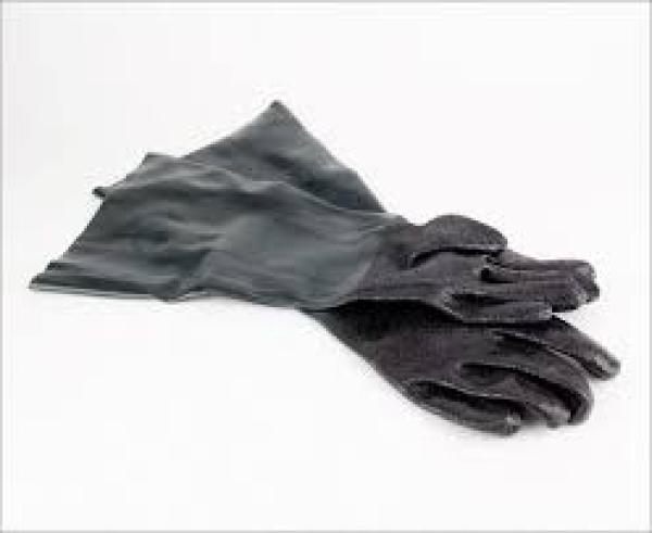 Schutzhandschuhe für Sandstrahlkabine