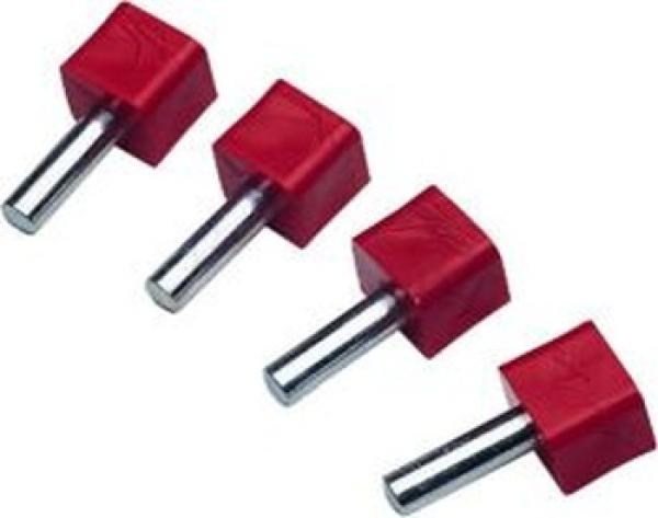 Super Pins, 6,3 mm, 4 Stück