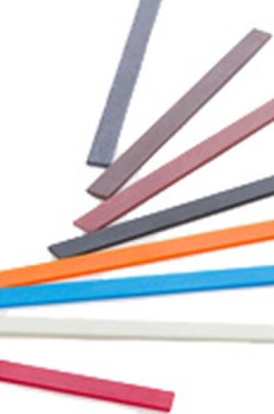 Feiler-Einsatz, Keramikfaser, flach, Körnung 1200 (rot)