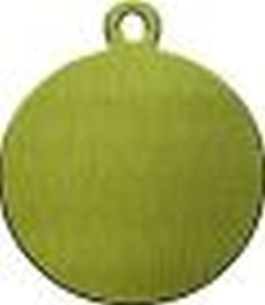 Schlüsselanhänger aus Messing, Modell 4