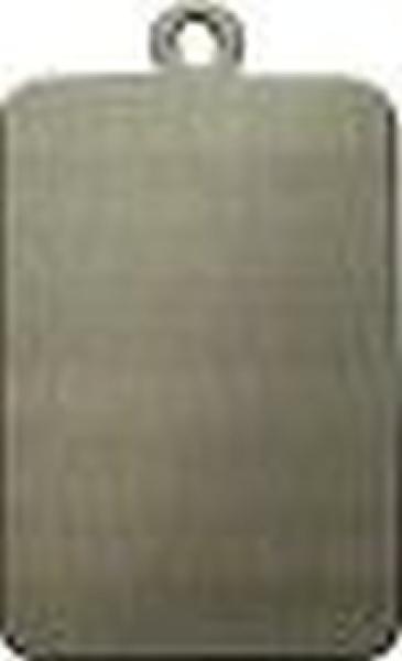 Schlüsselanhänger aus Neusilber, Modell 3