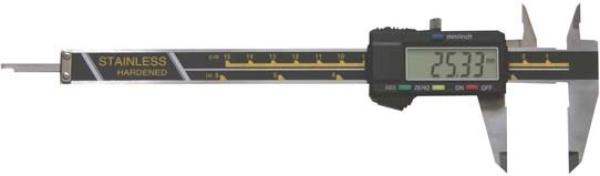 Messschieber für Linkshänder: 0,01-150mm, digital