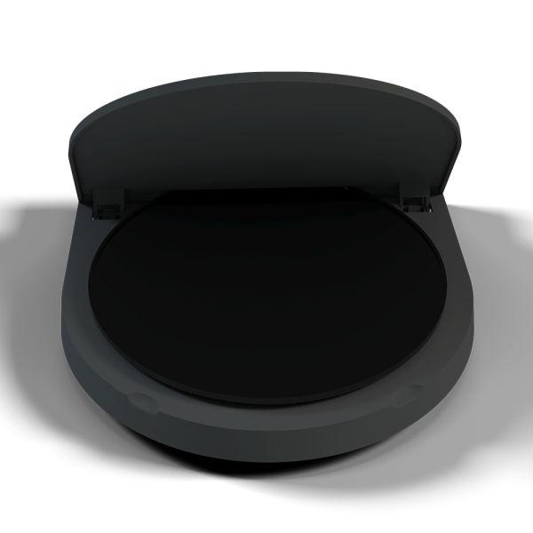 Fotobox Drehtelleraufsatz schwarz