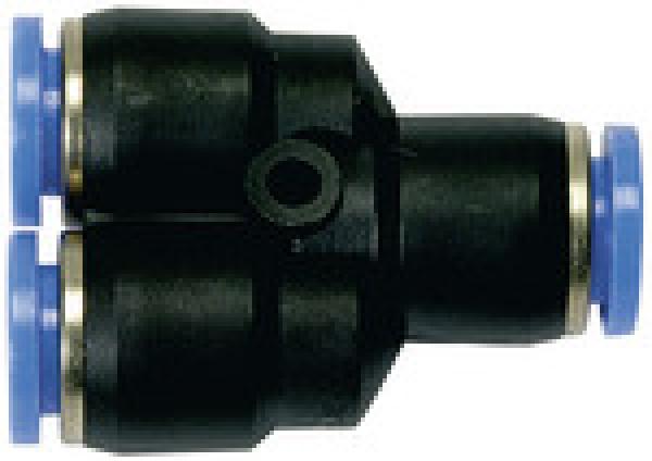 Y-Schnellsteckverbindung für Ø 6/4 mm Schläuche
