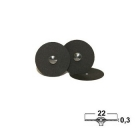 Trenn- & Separierscheiben: Nylon, Ø 22x0,3mm