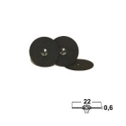 Trenn- & Separierscheiben: Nylon, Ø 22x0,6mm