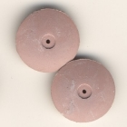 Polierer, mittel (rosa-grau) Linse