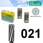 Zylinder-Fräser - Fig. 21-021 (6er-Pack)