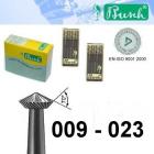 Doppelkegelfräser - Fig. 446-009 bis 023 (6er-Pack)