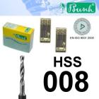 HSS-Spiralbohrer - Fig. 203HSS-008 (2er-Pack)