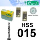 HSS-Spiralbohrer - Fig. 203HSS-015 (2er-Pack)