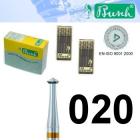 Doppelkegelfräser - Fig. 446AU-020 (2er-Pack)