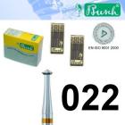 Doppelkegelfräser - Fig. 446AU-022 (2er-Pack)