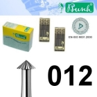 Spitz-Fräser - Fig. 420-012 (6er-Pack)