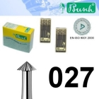 Spitz-Fräser - Fig. 420-027 (6er-Pack)
