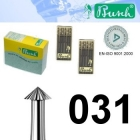 Spitz-Fräser - Fig. 420-031 (6er-Pack)