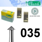 Spitz-Fräser - Fig. 420-035 (6er-Pack)