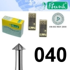 Spitz-Fräser - Fig. 420-040 (6er-Pack)