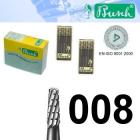 Zylinder-Fräser - Fig. 33HM-008 (6er-Pack)