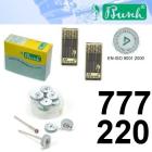 Schleifräder Silent - Fig. S-777-220 (12er-Pack)