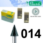 Diamant-Fräser - Fig. 858-014 (2er-Pack)