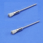 Miniatur-Pinsel, Silberdraht (12er-Pack)