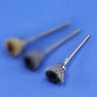 Miniatur-Kelchbürsten, Stahldraht 0,12 mm (6er-Pack)