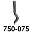 Legierungsstempel, gebogen - 750-075