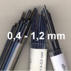 Tamponstähle 0,4-1,2 mm