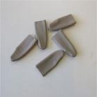 Fingerlinge Gr. 3, glattes Leder, einzeln