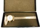 Messschieber, 0,02 - 100 mm, analog mit Uhr