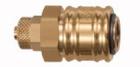 Druckluft: Schnellverschlusskupplung NW 7,2 für Ø 6/4 mm Schlauch