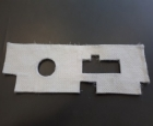 Glasgewebematte für MC 60 - 100V
