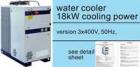 Kühlung: Wasserrückkühler 18,5 kW & 50 Hz