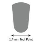 GlenSteel Bollstichel, #12, Ø 1,2 mm