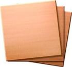 Übungsplatten 50,8 × 50,8 mm, Kupfer, 3er-Pack