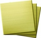 Übungsplatten 50,8 × 50,8 mm, halbhartes Messing, 3er-Pack
