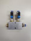 Adapter zur Druckluft- & Vakuumverteilung: 2-fach