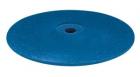 Gummipolierer: Linse, mittel, blau